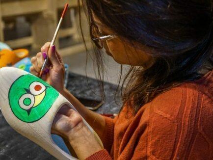 Afbeelding - Workshop klompen schilderen in Volendam